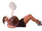 buikspier oefening zware bal 2
