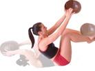 buikspier oefening zware bal 7