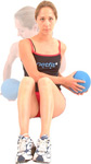 buikspier oefening zware bal 3