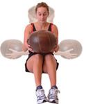 buikspier oefening zware bal 4