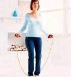 workout en traininsschema touwspringen afvallen