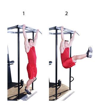 Onderste en lage buikspieren trainen oefening 3